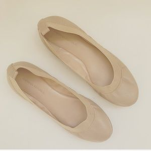 Banana Republic Abbey ballet flats in nude